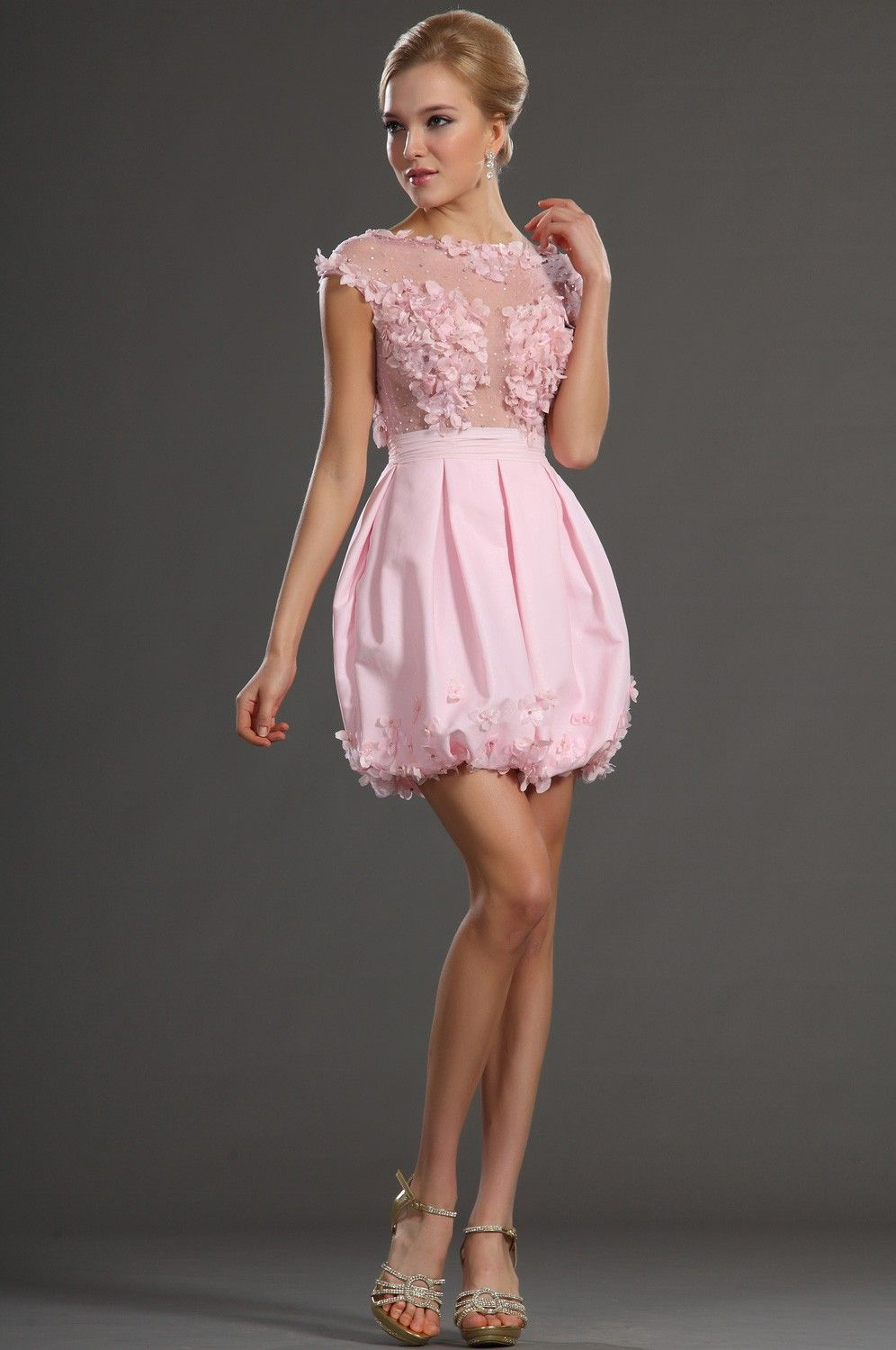 Pink-Cocktail-Dress- Uploaded by Dress Journal on Monday, May 23rd ...