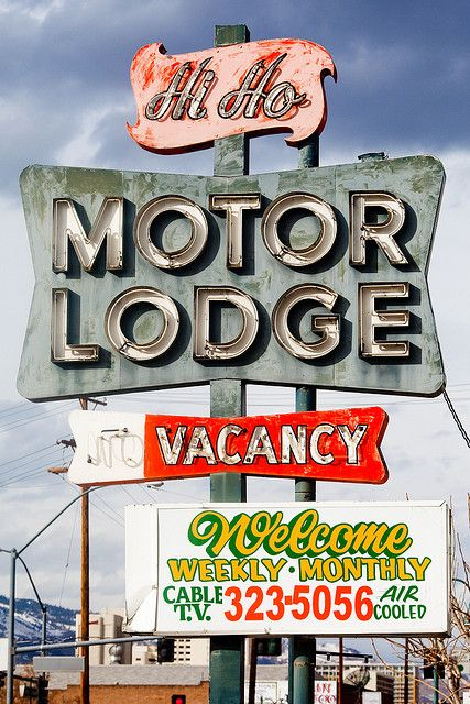 Fortunes Upon Fortunes S O M E D A Y Vintage Neon Signs Motel