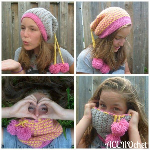4 In 1 Hatcowl Convertible Crochet Pattern For Sale From Accrochet