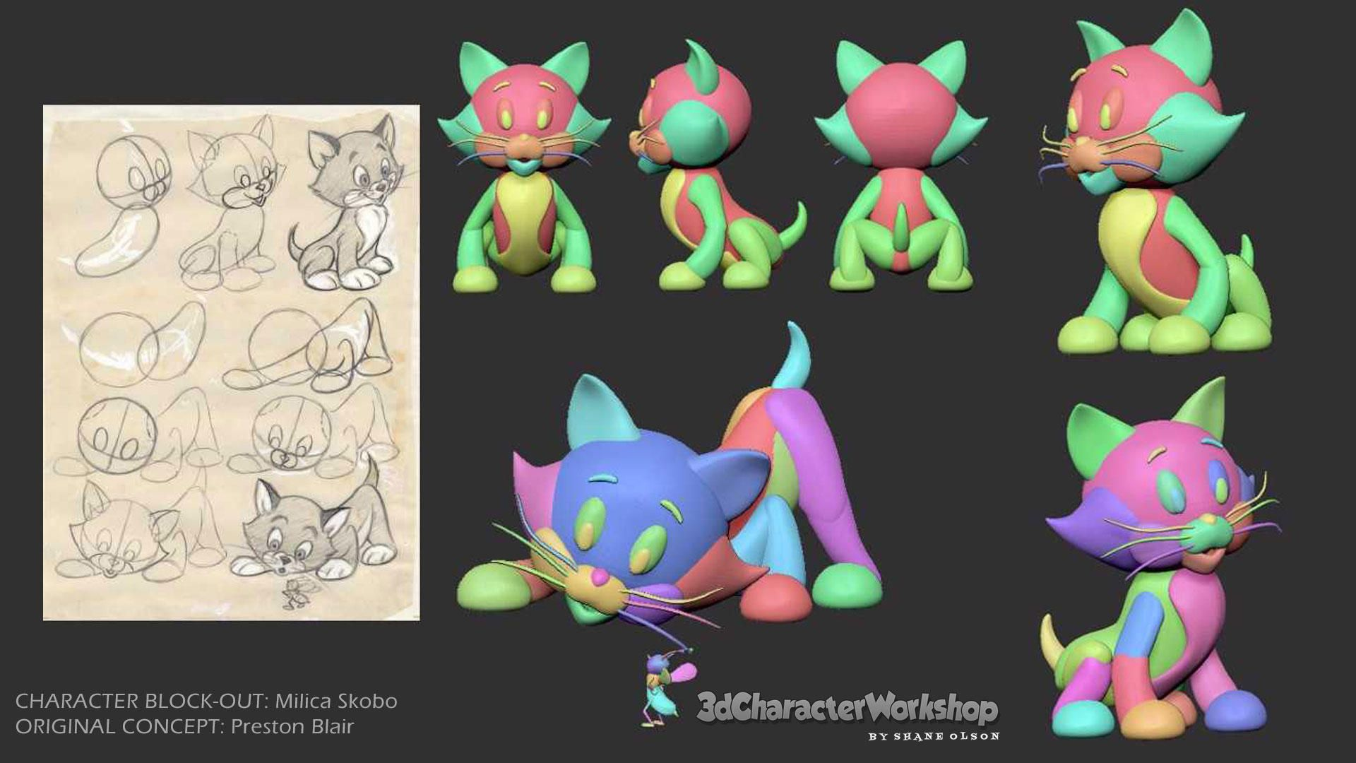 Block-Out Student Gallery | Blocking in zbrush | Zbrush
