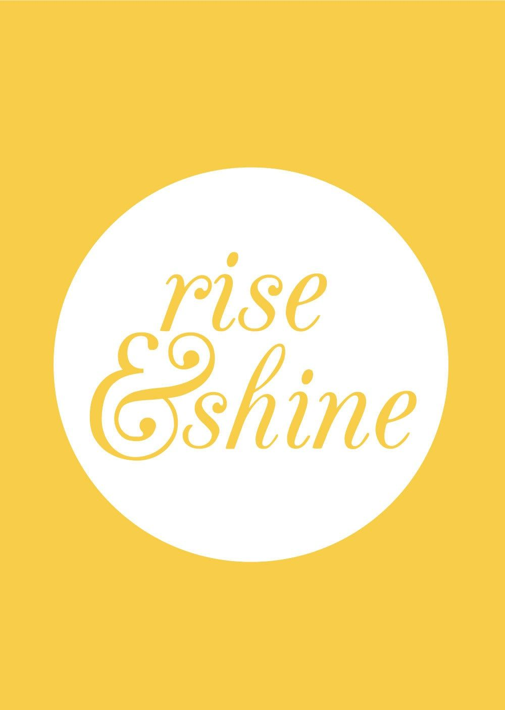 Rise And Shine Quotes Rise & Shine  Quotes  Pinterest