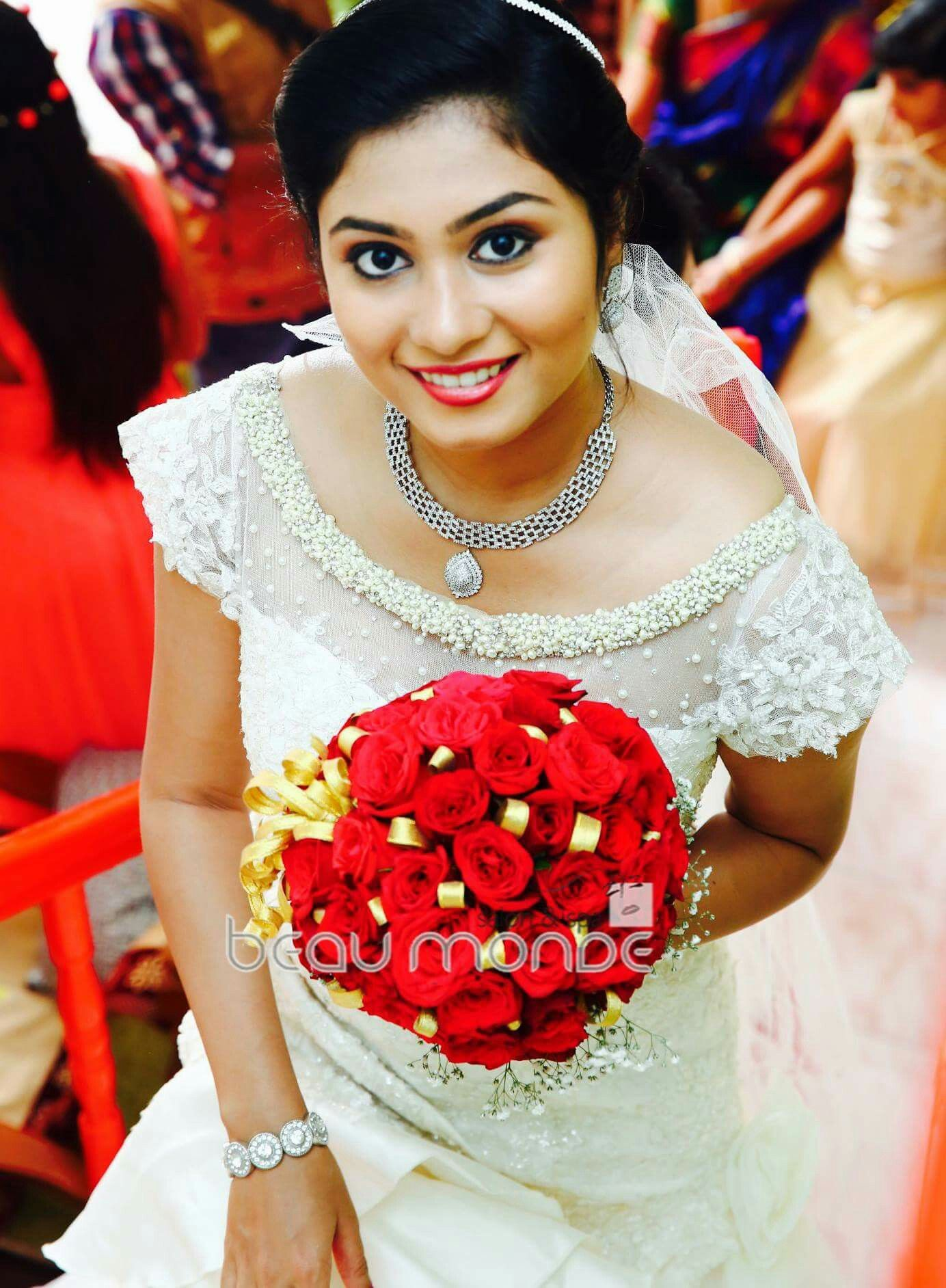 Kerala Wedding Christian Bride Bridal Gown Mallus Christian