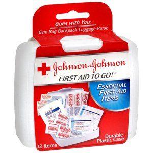 FIRST AID KIT JJ 12 PC MINI 1 per pack by J&J CONSUMER SECTOR *** by J&J CONSUMER SECTOR ***. $5.80