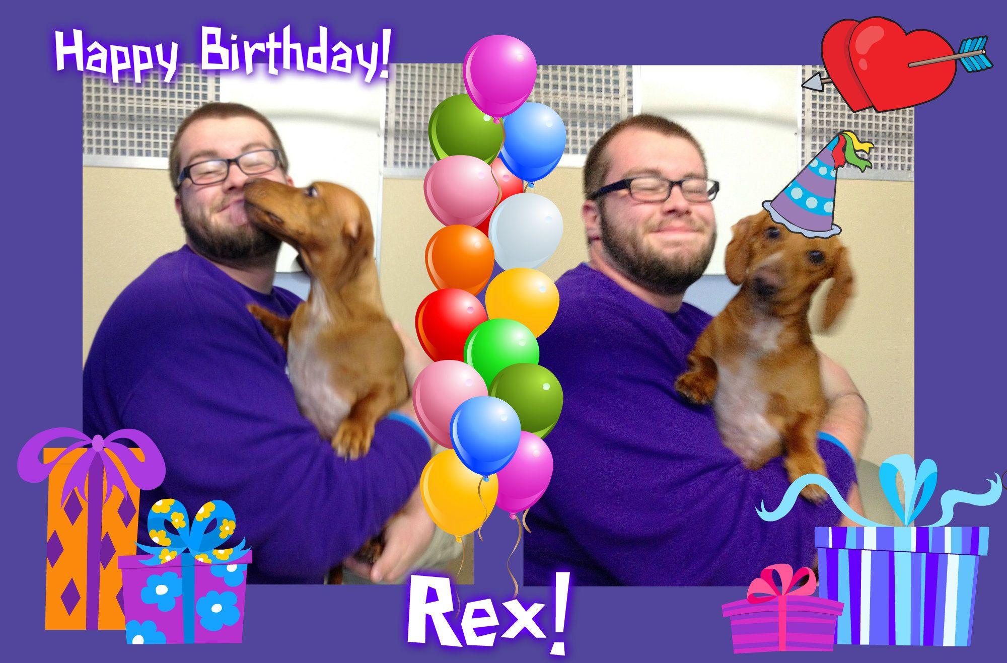 Happy Birthday, Rex!