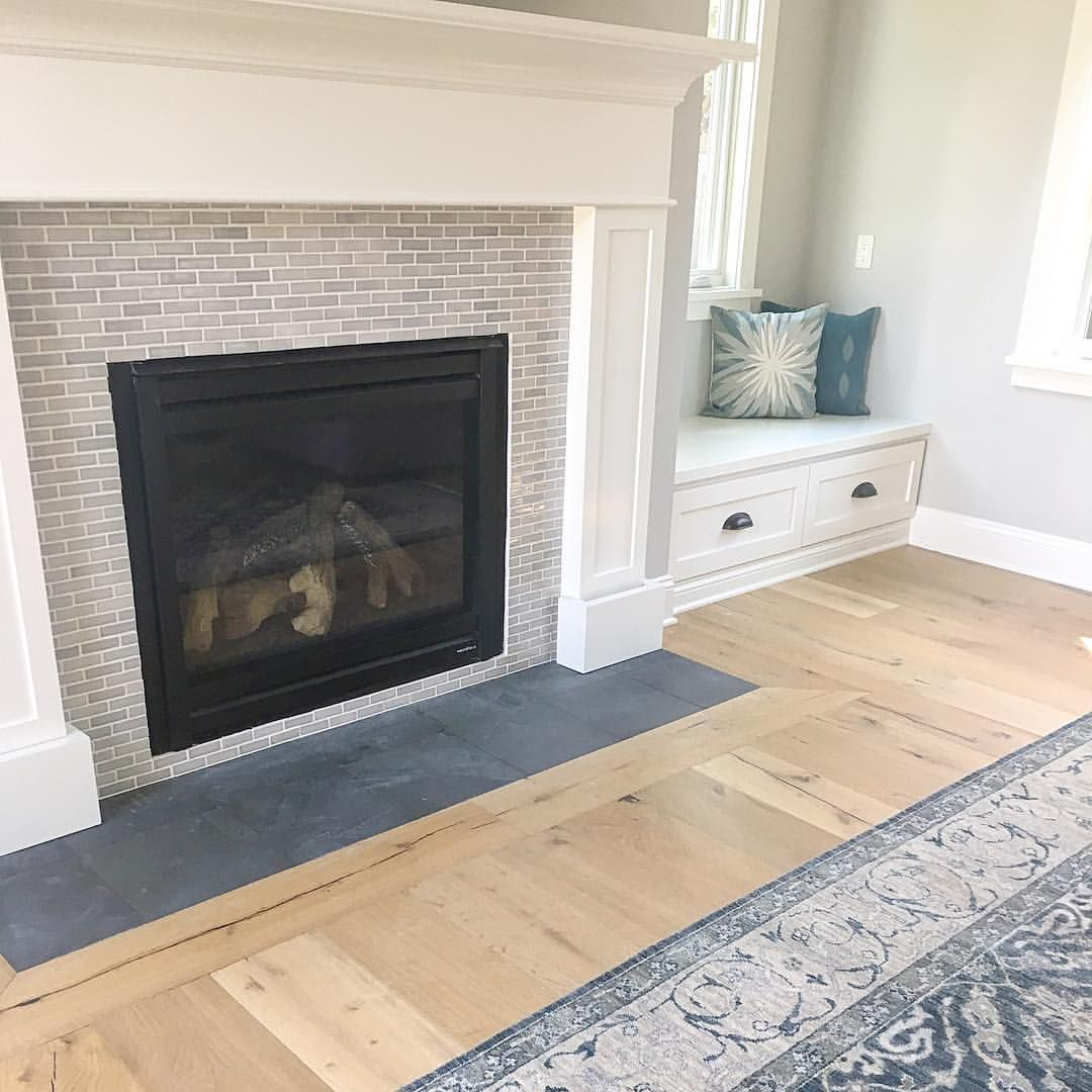 Nicole On Instagram Slightly Obsessed With The New Fireplace Tile At