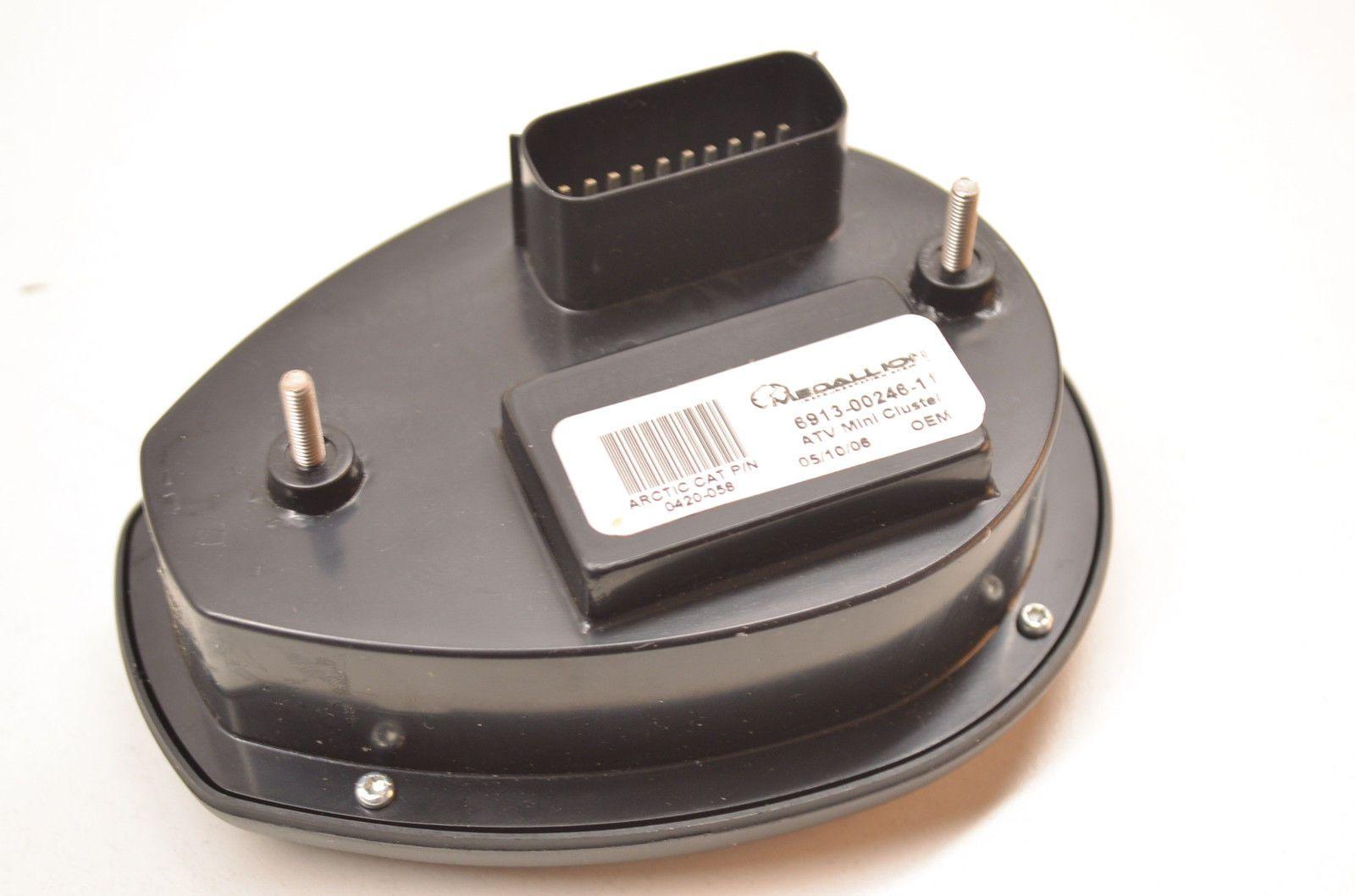 New OEM Arctic Cat LCD Speedometer Gauge NOS eBay