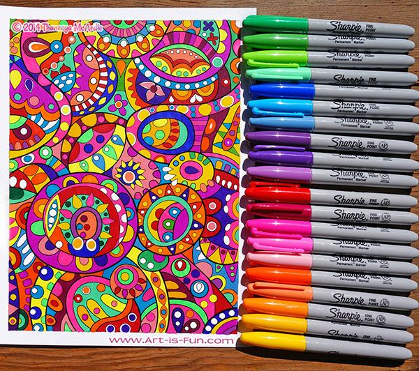 Coloring Supplies The Best Markers Colored Pencils Gel Pens And More For Coloring Coloring Supplies Coloring Books Coloring Pages