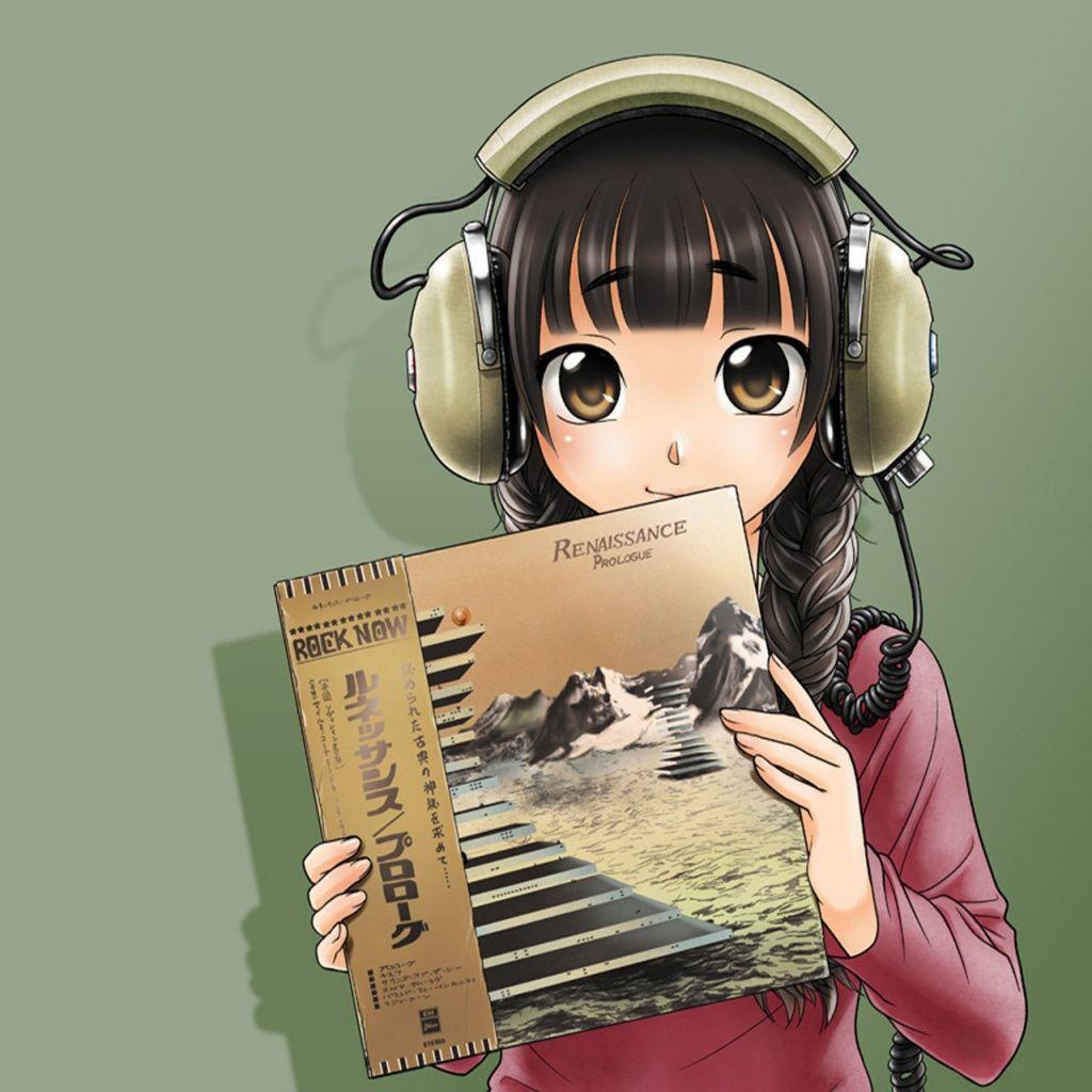 Anime Headphones Ipad Wallpapers Anime Headphones Cartoon Comics Ipad Ipad 2 อะน เมะ หน มอะน เมะ สาวอน เมะ