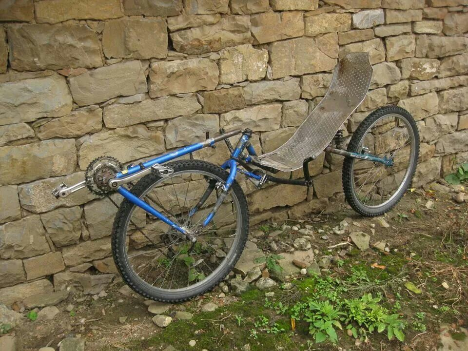 Home Made Front Wheel Drive Cool Recumbent Bicycles
