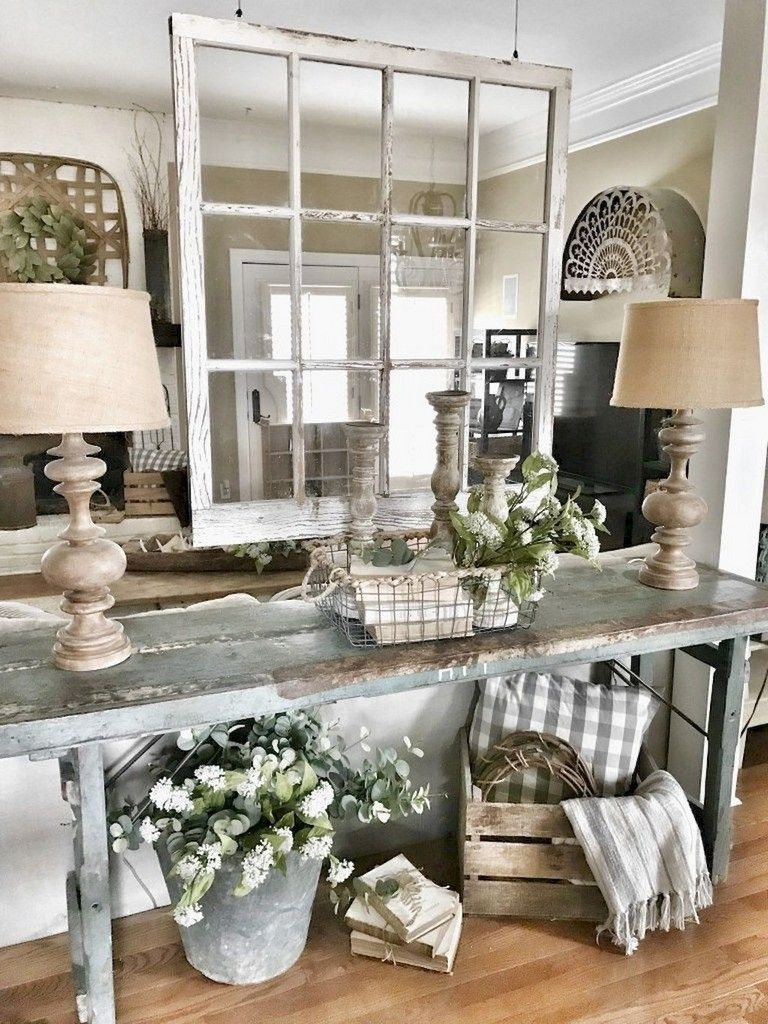 79 Awesome Modern Farmhouse Entryway Decorating Ideas Farm House Living Room French Country Living Room Country Chic Decor