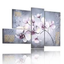 Resultado de imagen de cuadros de orquideas blancas