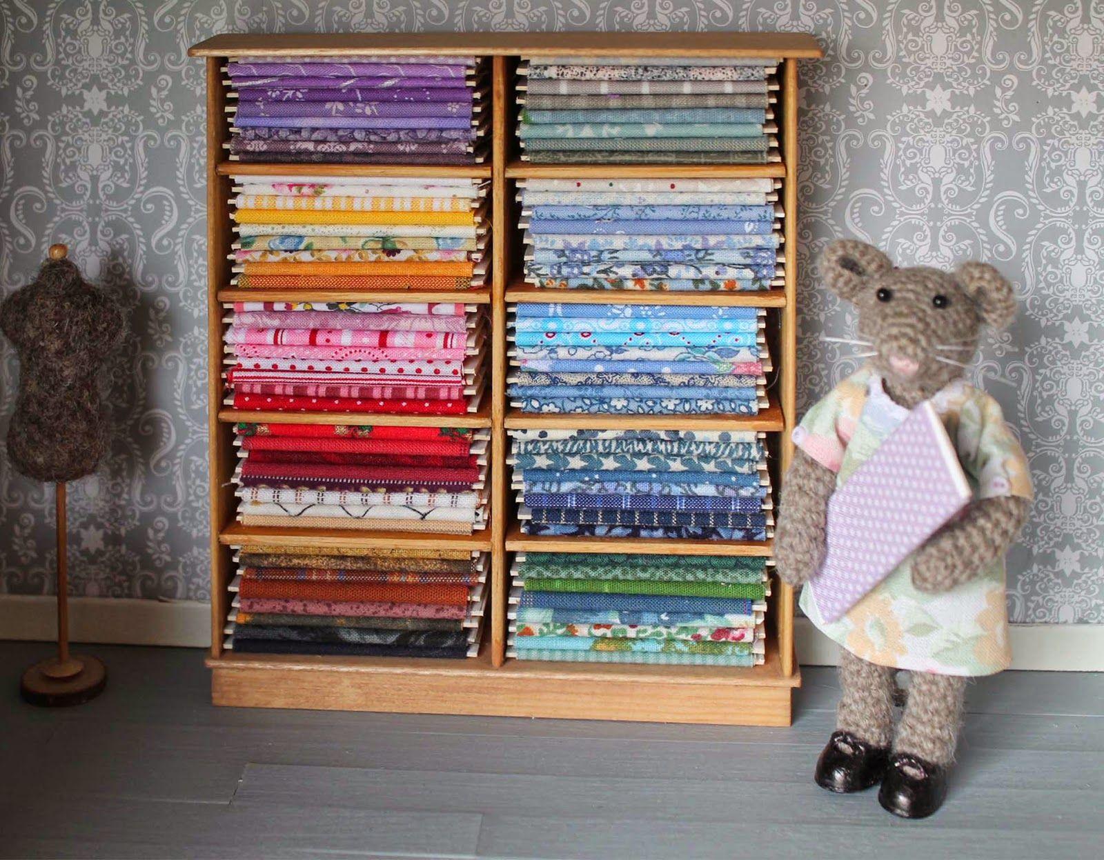 Colourful bolts of fabrics