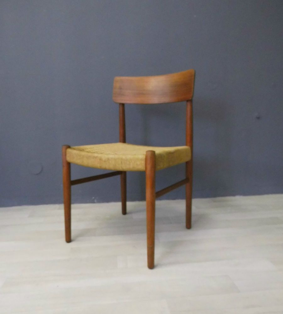 teak stuhl chair danish design denmark mid century modern wegner eames ra era house. Black Bedroom Furniture Sets. Home Design Ideas