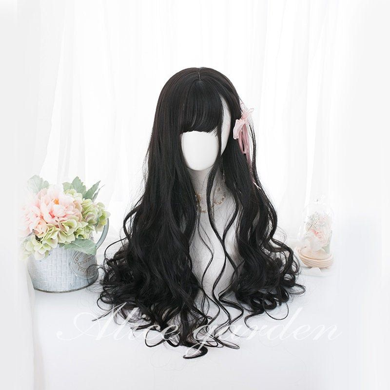 Pin On Wig Lolita Wig Cosplay Wig Anime Wig Lace Wig