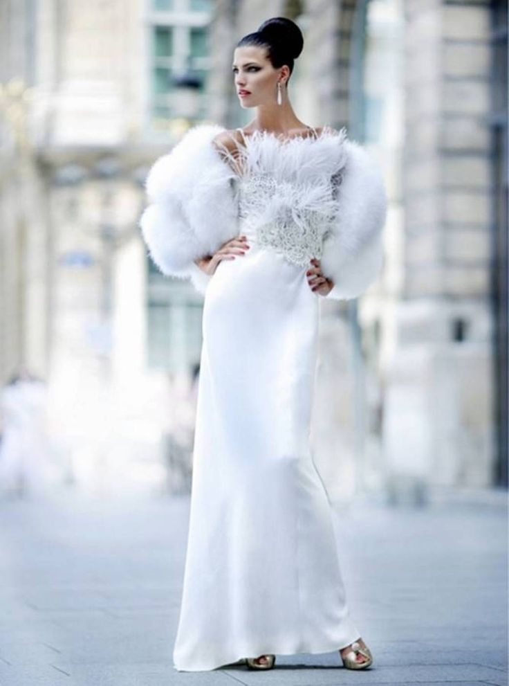 Fancy Winter Wedding Dresses to Take Inspiration From Aelida