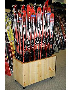 Rax Commercial Ski And Snowboard Storage Racks