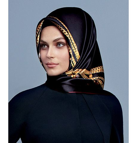 Armine Silk Hijab Scarf Fall 2015 - Winter 2016 #7254 – Modefa USA