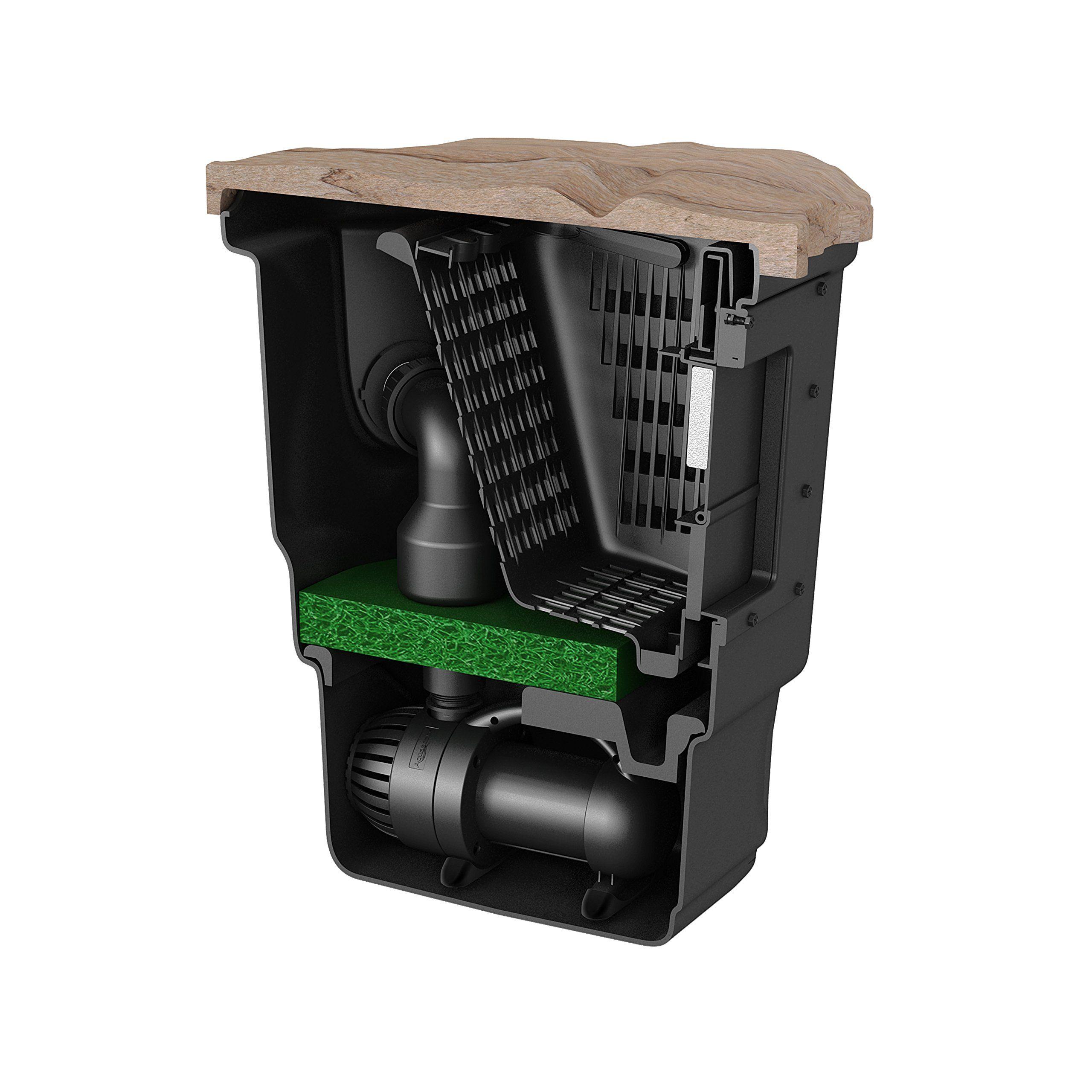 Aquascape Signature Series Pond Skimmer Filter 400 Black ...