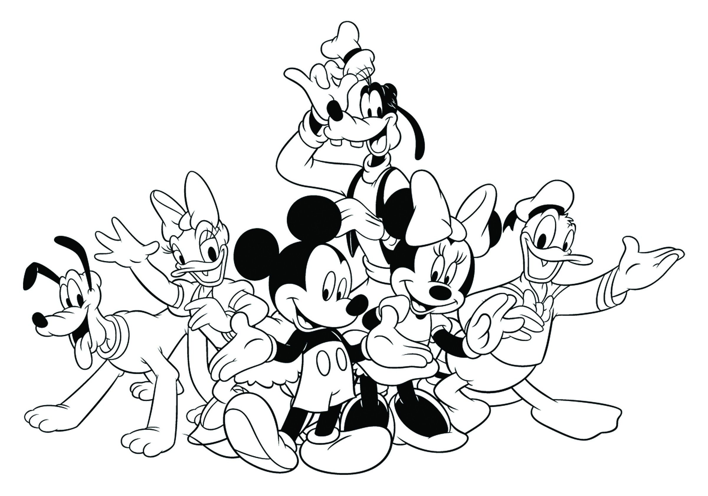 Mickey Mouse Clubhouse Coloring Mickey Mouse Clubhouse Coloring Mickey Mouse Clubhou Disney Coloring Sheets Mickey Coloring Pages Mickey Mouse Coloring Pages