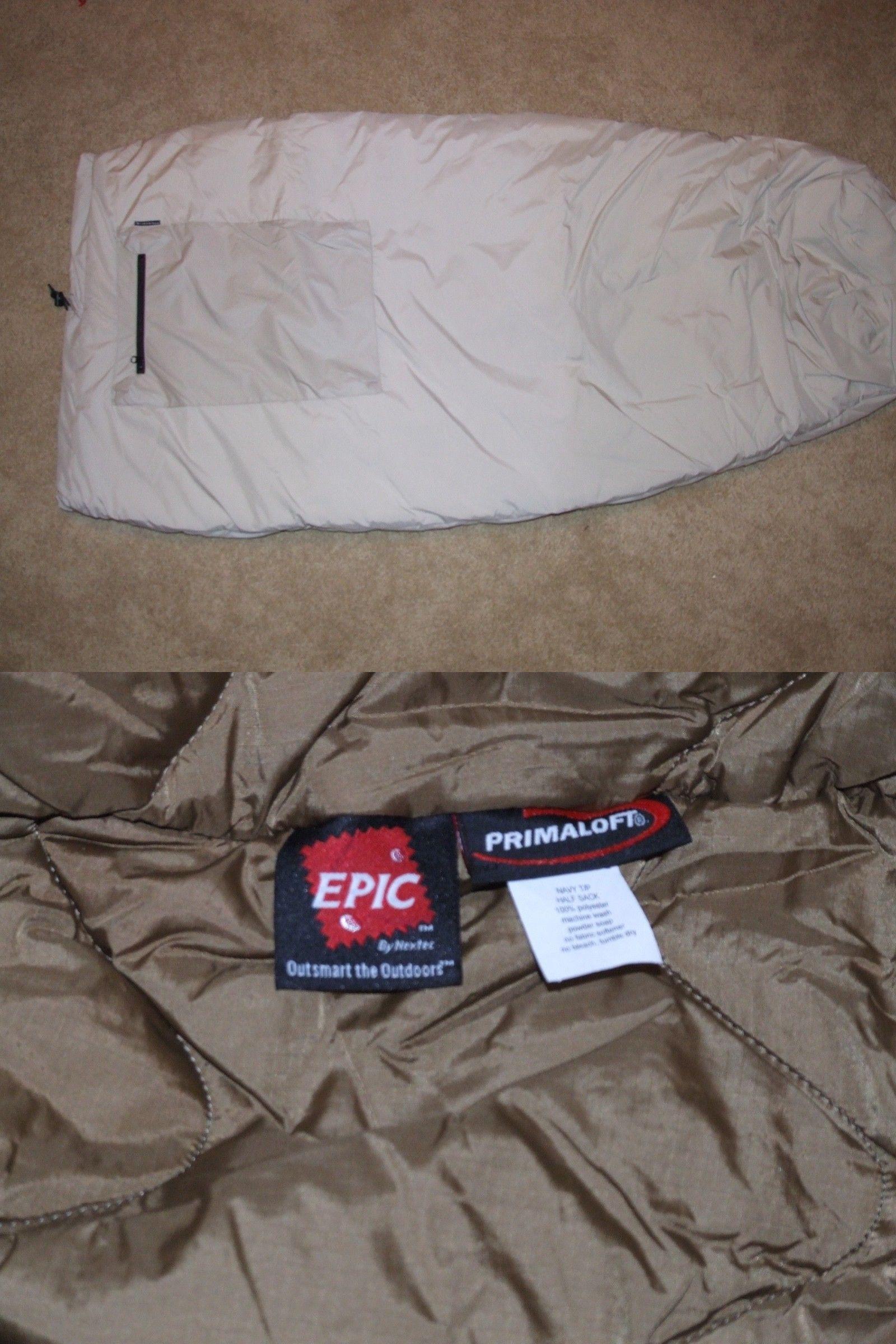 Other Camping Hiking Backpacks 36109  Us Army Wild Thing Alpine Half  Sleeping Bag Khaki Unissued 653870d1ba