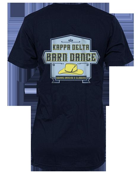Kappa Delta Barn Dance Tee by Adam Block Design   Custom Greek Apparel & Sorority Clothes   www.adamblockdesign.com