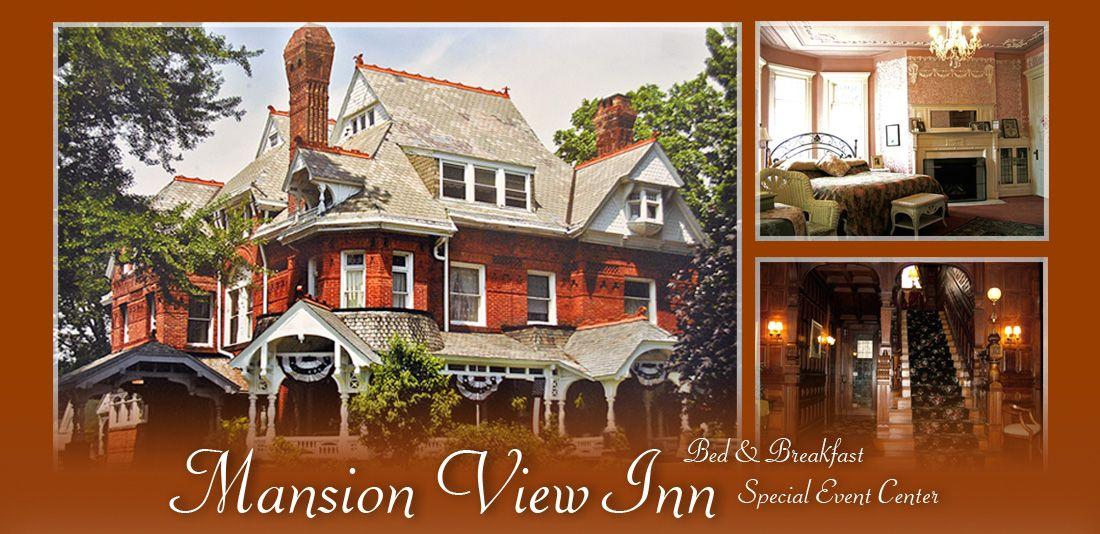 Mansion view inn indooroutdoor ceremony reception