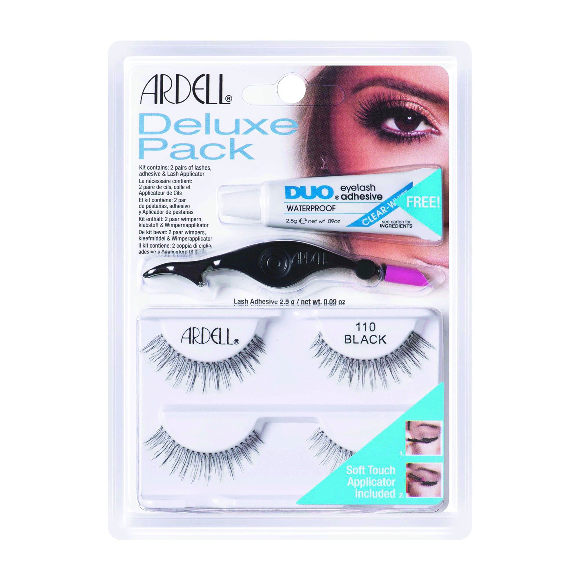 abdc041374e Ardell Eyelash 110 Deluxe Kit Black - 2ct Ardell Eyelashes, False Lashes, Fake  Eyelashes