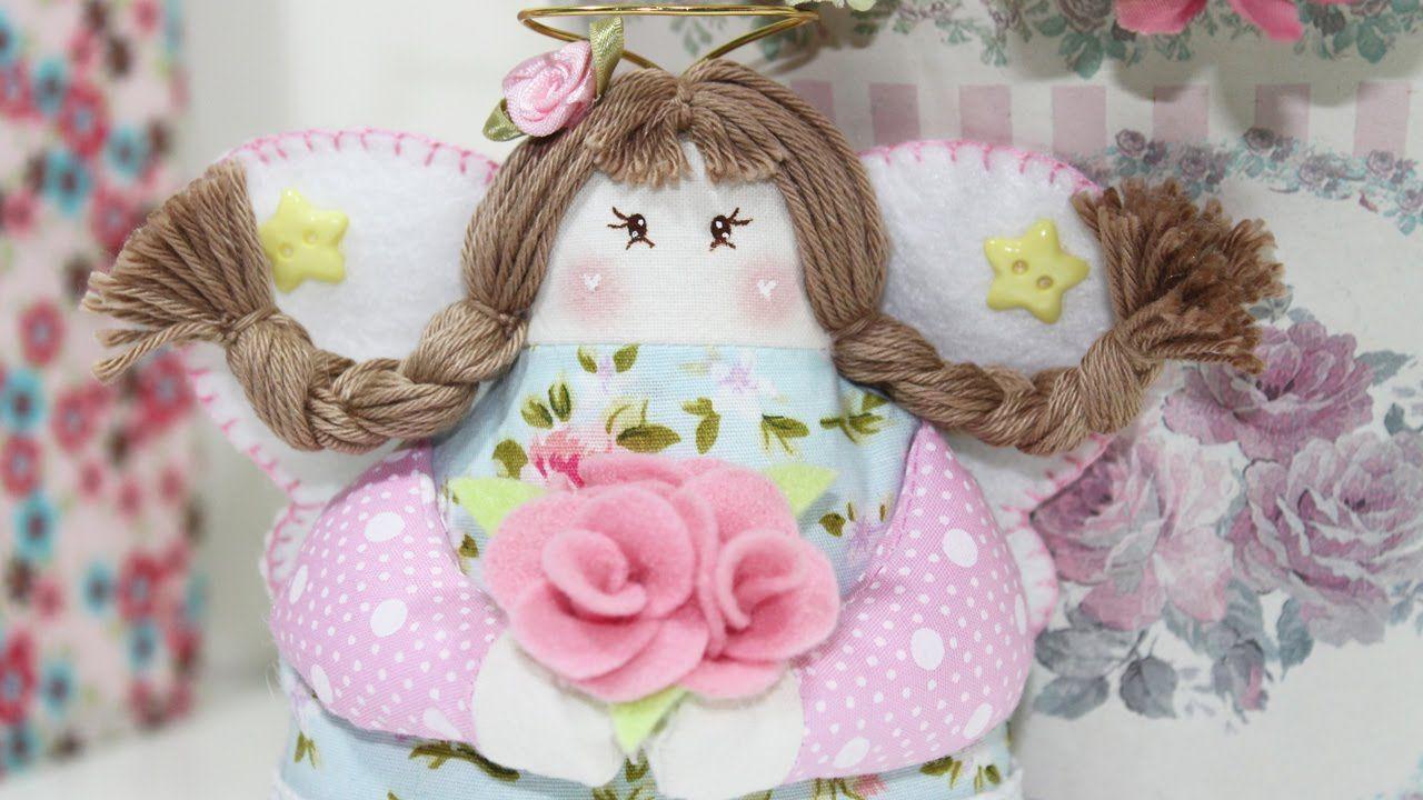 Artesanato Tecido -  Como Fazer Bonecas de Pano ( Parte 2 ) -  Segredos ...