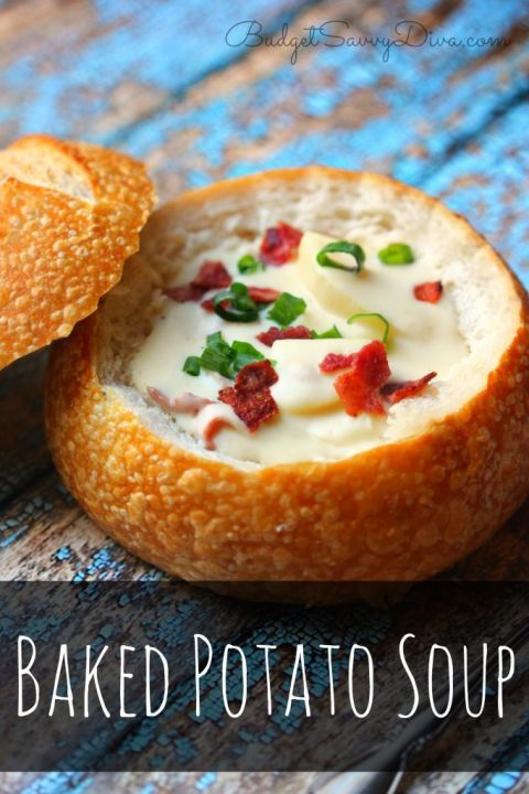 Baked potatoes are basically the best thing to ever happen to soups. Get the recipe from Budget Savvy Diva.