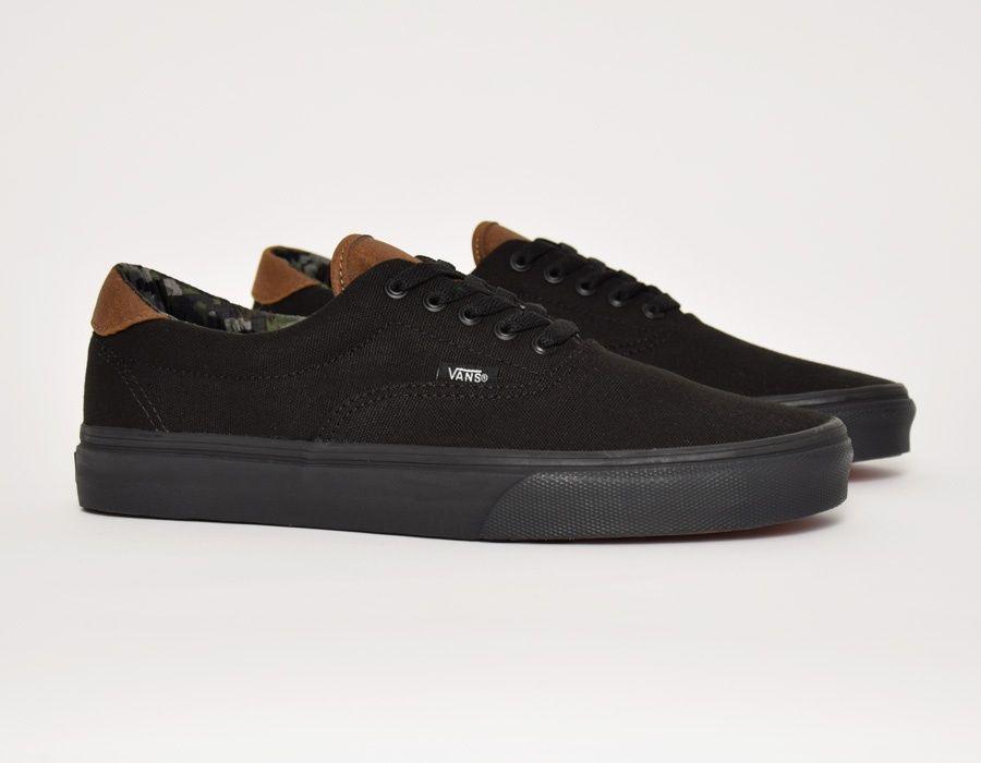 #Vans Era 59 Black Camo #sneakers