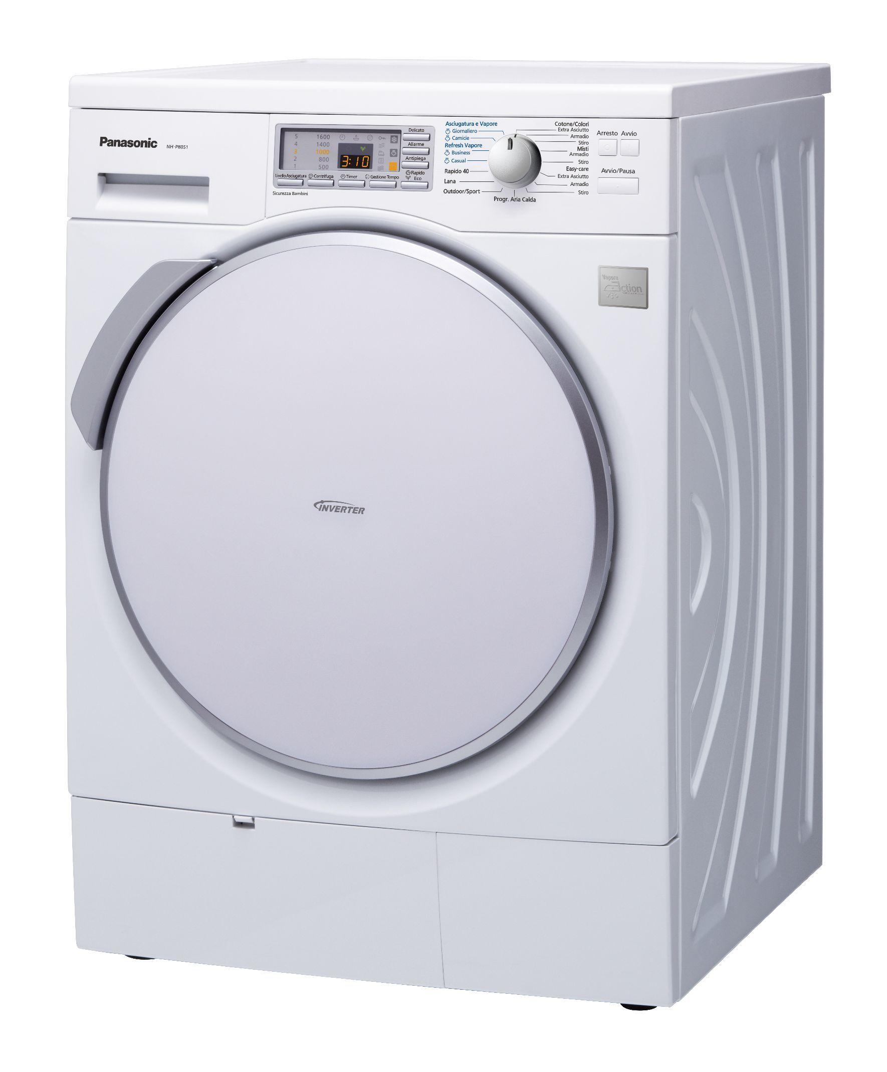 Lavatrice con vapore Panasonic Lavatrice, Vapore