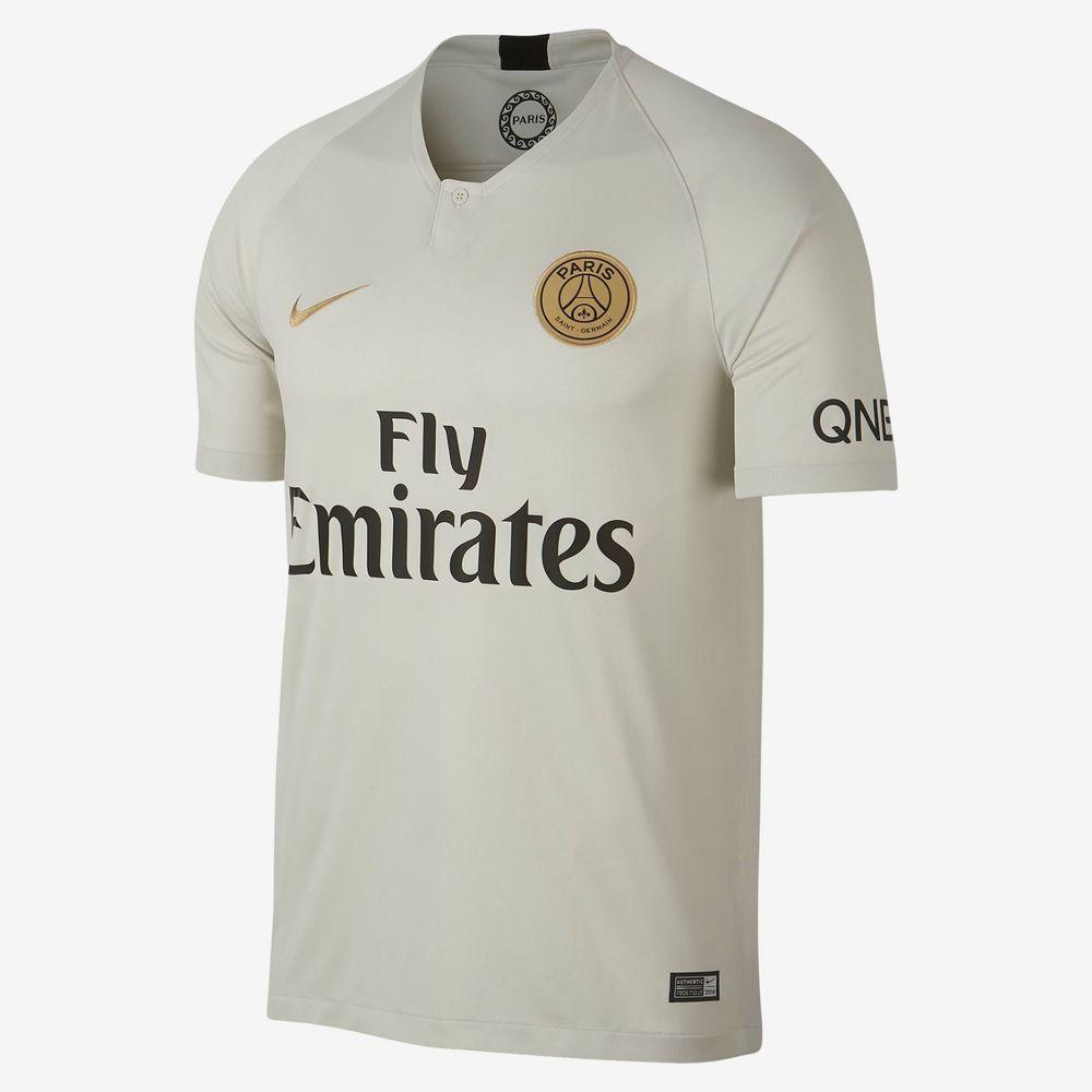 huge selection of af669 91071 Nike Paris Saint-Germain Official 2018 2019 Away Soccer ...