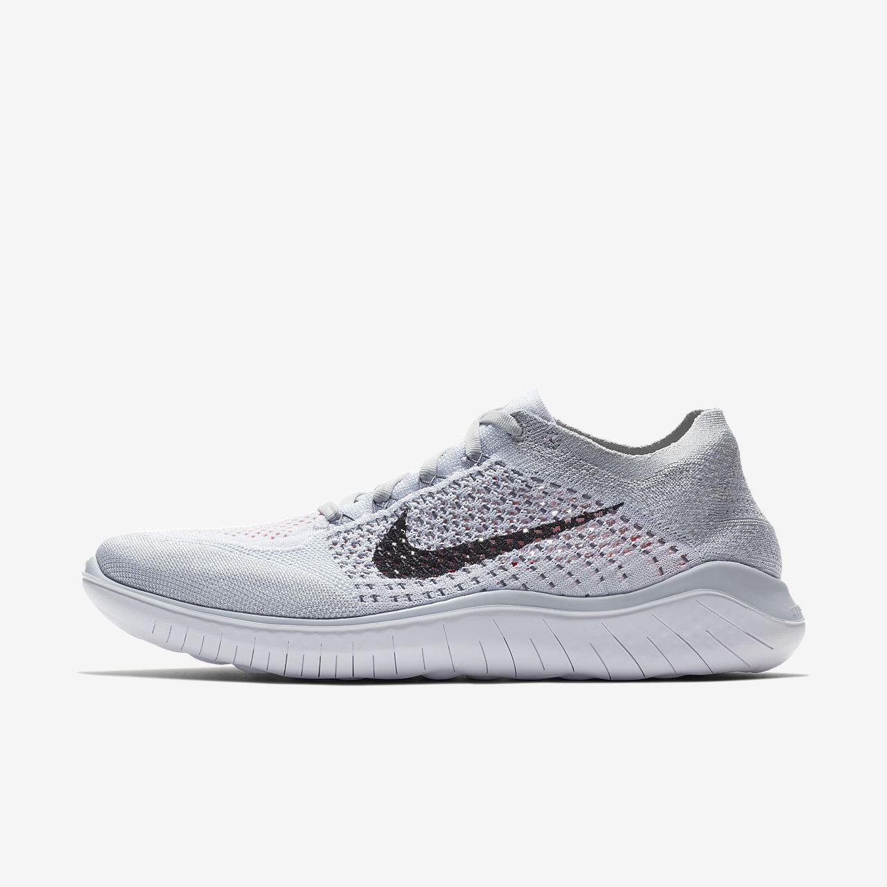 Free Rn Flyknit 2018 Men S Running Shoe Running Shoes For Men Black Running Shoes Nike Free