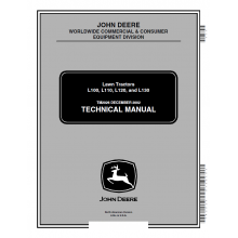 John deere l100 l110 l120 l130 lawn tractors technical manual tm john deere l100 l110 l120 l130 lawn tractors technical manual tm 2026 pdf fandeluxe Image collections