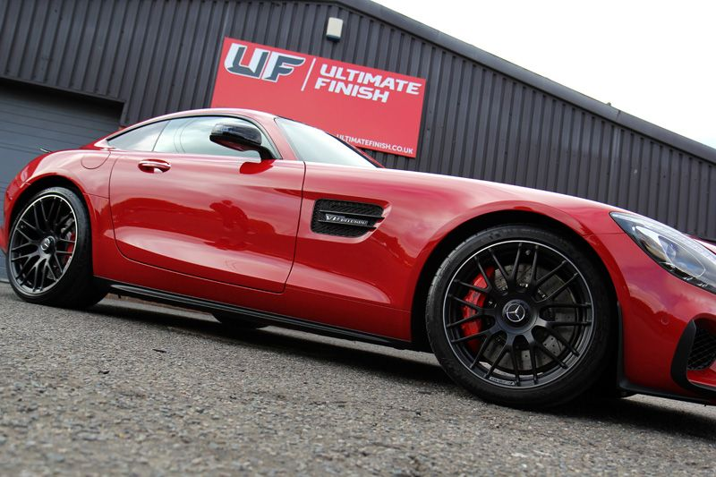 High Quality Fire Opal Red Mercedes AMG GT S With Kamikaze Collection ENREI. Mercedes  Benz AmgCar ...