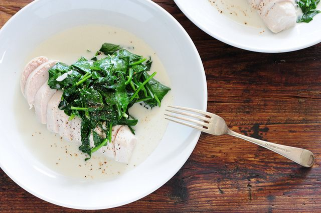 coconut chicken & greens | stonesoup