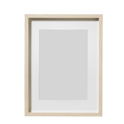 Hovsta Frame Birch Effect Birch 12 X16 31x41 Cm Ikea Photo Frames Frames On Wall Multi Photos Frame