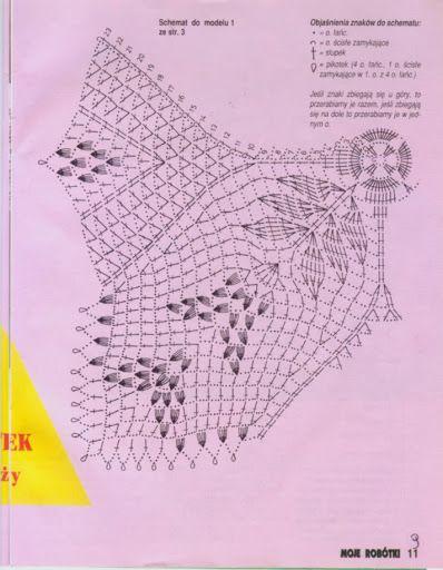 era Kira scheme crochet: square