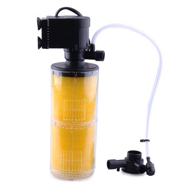 Boyu Sp 1300 400l H 9w Aquarium Filter Internal Submersible Filter Aquarium Filter Aquarium Air Pump Pet Supplies Organization