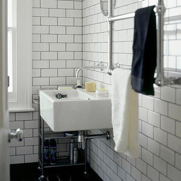 B L O O D A N D C H A M P A G N E C O M Subway Tiles Bathroom