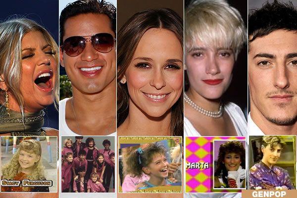 Kids Incorporated Stacy Ferguson Mario Lopez Jennifer