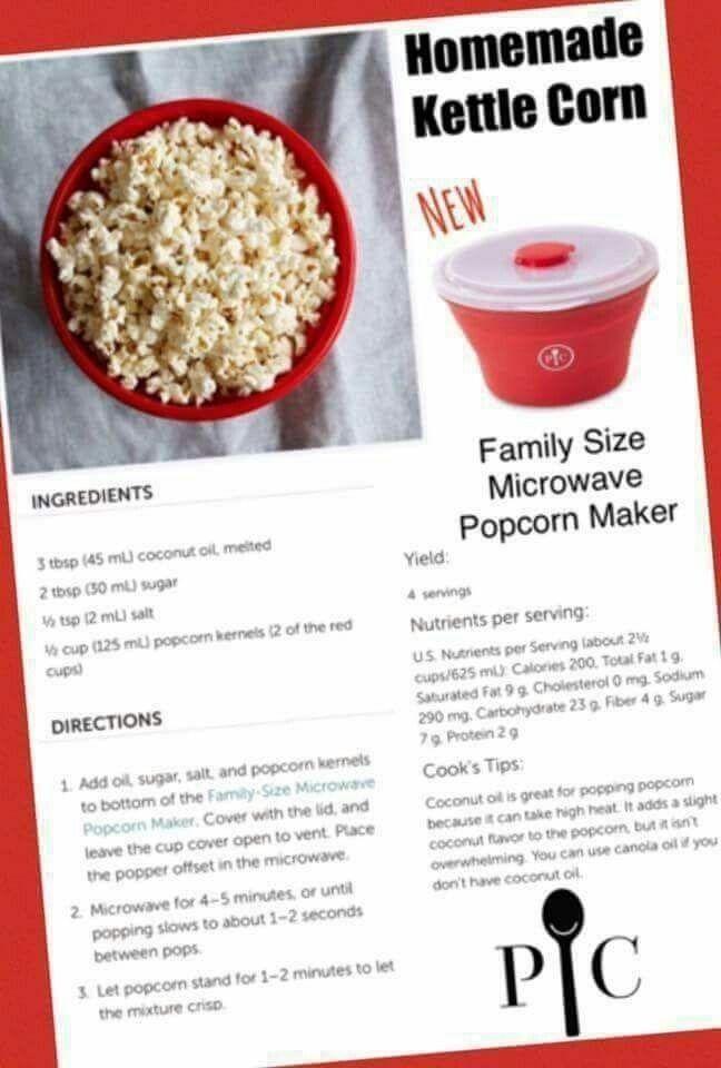 pampered chef popcorn maker pampered
