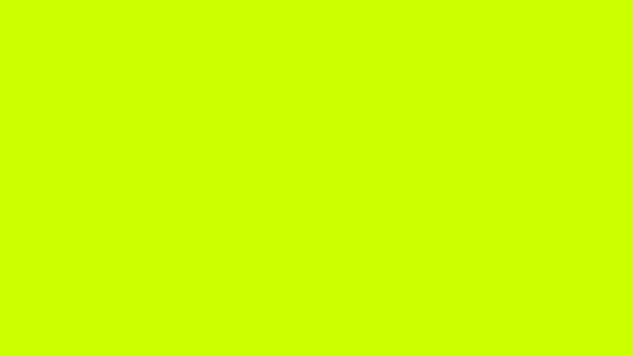 Color Solid | Free 1280x720 resolution Fluorescent Yellow ...