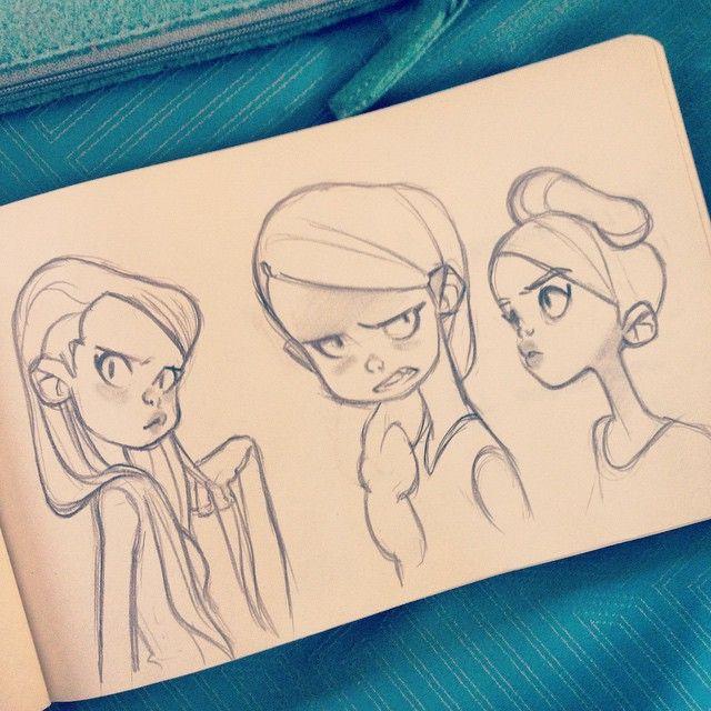 #sketching #girls | Use Instagram online! Websta is the Best Instagram Web Viewer!