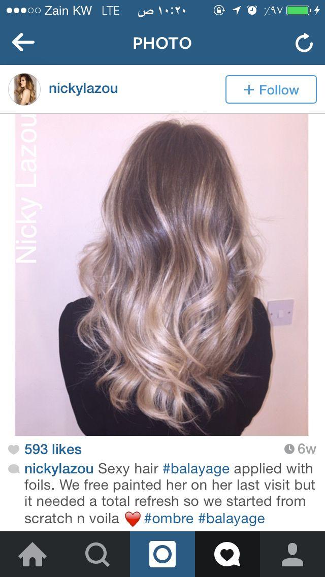 اومبريه Hair Painting Long Hair Styles Hair Styles