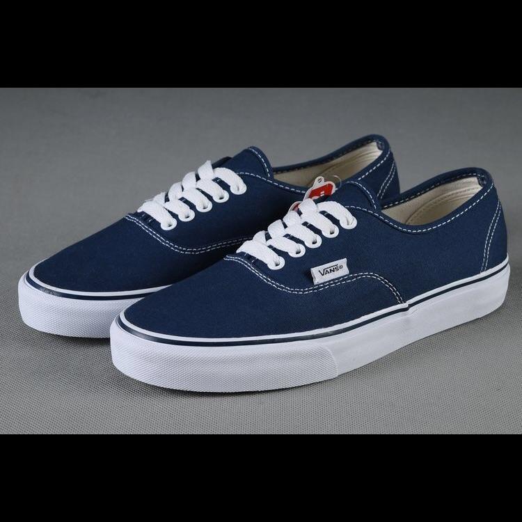 vans shoes navy blue
