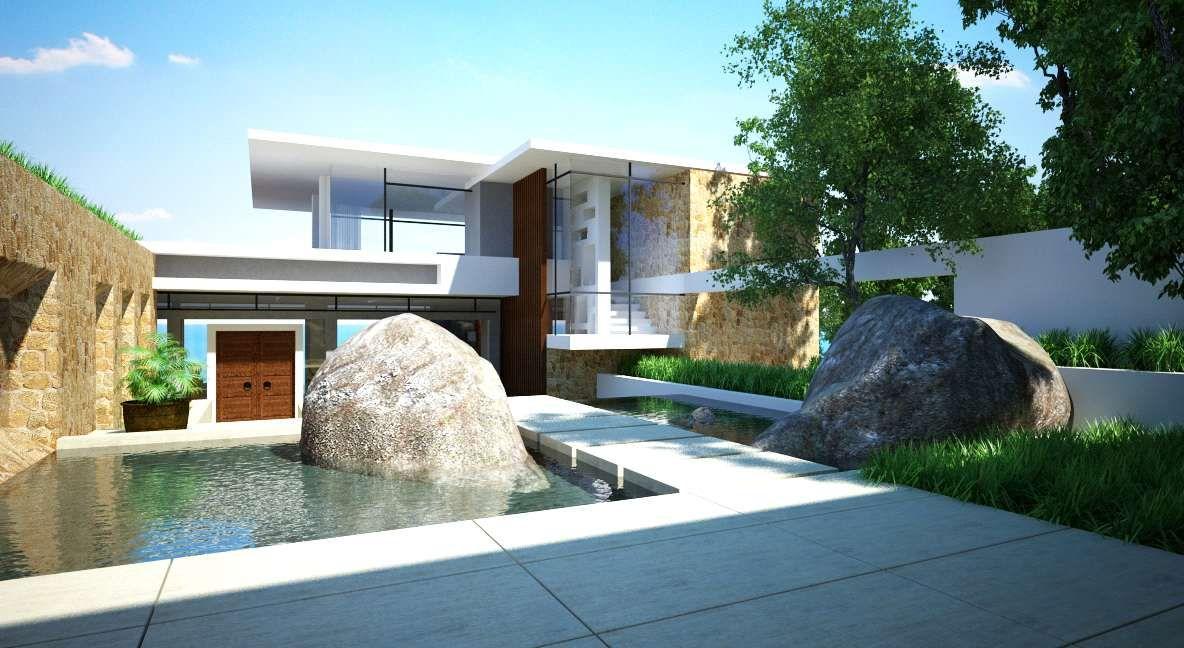 Hillside villa jantara by gfab architects amazing homes pinterest villas architects and architecture