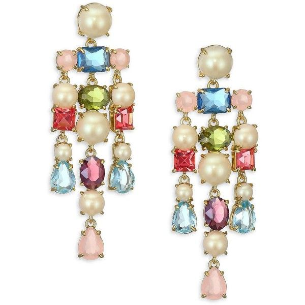 Kate spade new york crystal chandelier earrings 98 liked on kate spade new york crystal chandelier earrings 98 liked on polyvore featuring jewelry aloadofball Gallery