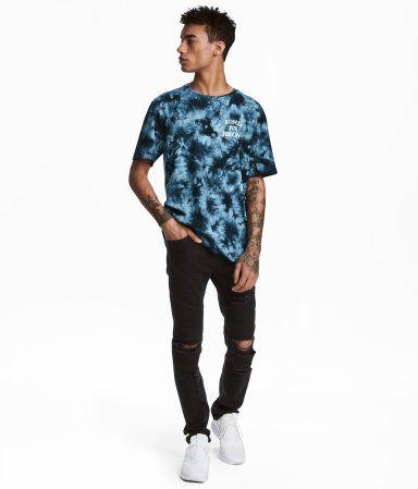 Biker Jeans Black Men H M In Clothing Pinterest Jeans