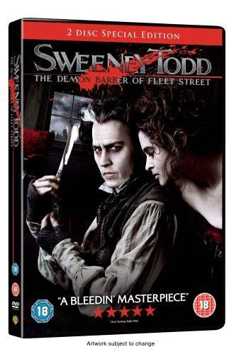 Sweeney Todd The Demon Barber Of Fleet Street 2 Disc Dvd 2007 Dvd Sweeney Todd Http Www Amazon Co Uk Sweeney Todd Musical Movies Tim Burton Movie